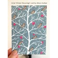 'Winter Waxwings' (snowy) - pack of ten cards *NEW*