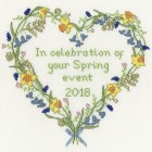 Counted Cross Stitch Kit - Spring *SALE*