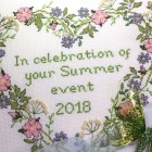 Counted Cross Stitch Kit - Summer *SALE*