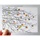 'Autumn Branches' greetings card