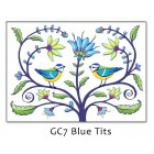 'Blue Tits' Greetings Card (sorry sold out)