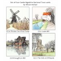 'Houghton Mill' greetings card (winter)