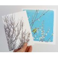 'Spring Willow' greetings card