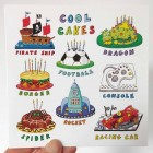 Card - Cool Cakes
