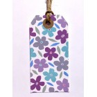 Flower Pattern gift tags *NEW*