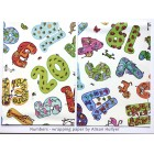 Numbers - wrapping paper *SALE*