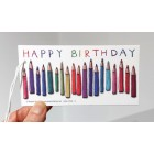 Pencils - gift tag