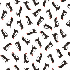 Marching Penguins - wrapping paper