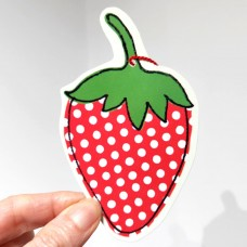 Strawberry - gift tag