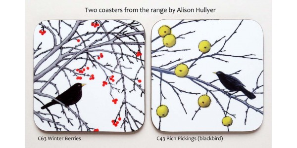Blackbird coasters