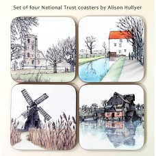 Set of 4 National Trust Coasters