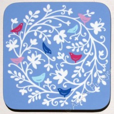 Coaster - Bird Circle (lilac) *SALE*