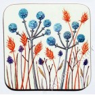 Coaster - Blue Seed Heads