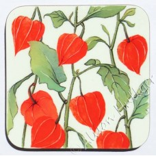 Coaster - Chinese Lanterns (sold out - message to order)