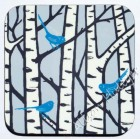 Coaster - Silver Birch Trees (blue)