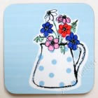 Coaster - Jug of Anemones (sorry sold out)