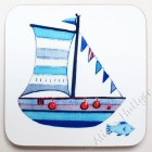 Coaster - Boat (sorry now sold out, message to order)