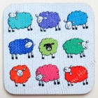 Coaster - Knitted Sheep - sorry sold out, more on order