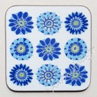 Coaster - Nine Blue Flowers