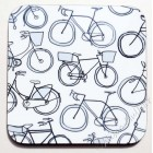Coaster - Bikes (black & white) - sorry sold out, message to order