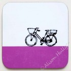 93. Coaster - Bike (purple)