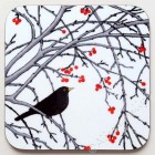 1. Coaster - Winter Berries