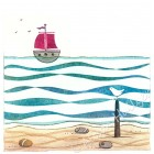 Drypoint Print - Sailing (sorry edition sold out)
