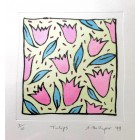 Drypoint - Tulips *SALE*