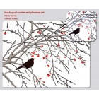 Winter Berries Placemat
