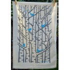 Silver Birch Tea Towel - Blue and Grey *back in stock*
