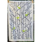 Silver Birch Tea Towel - Green and Grey (sorry sold out)