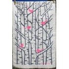 Silver Birch Tea Towel - Pink and Grey (sorry sold out)